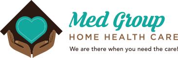 Med Group Home Health Care Logo